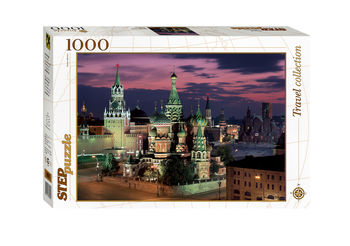 "Мозаика ""puzzle"" 1000 ""Красная площадь. Москва"", код 40760"