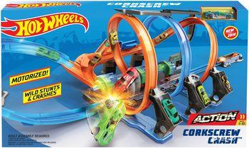 """Set de jocuri Hot Wheels """"Viraje incredibile"""", cod FTB65"""