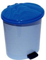 купить Урна д/мусора с педалью 10 л пласт, коричн в Кишинёве