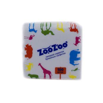 купить ZooZoo салфетки бумажные обычные, 100 шт в Кишинёве