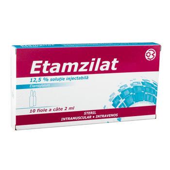 cumpără Etamsilat 12.5mg/2ml sol.inj. N10 în Chișinău