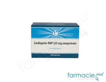 cumpără Cardiopirin-RNP comp.325 mg  N10x10 în Chișinău