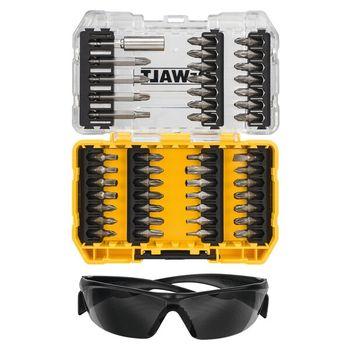купить Набор бит 47 шт + защитные очки DeWALT DT70703 в Кишинёве