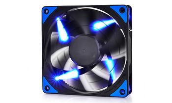 "120mm Case Fan - DEEPCOOL Gamer Storm TF series ""TF120"" Fan with Blue LED, 120x120x26mm, 500-1800rpm, <17.6~31.3dBa, 76.5CFM, Fluid Dynamic Bearing, 4Pin, PWM, 2-Layer Blade Design, DIY Solution, MTBF >100000 hours"