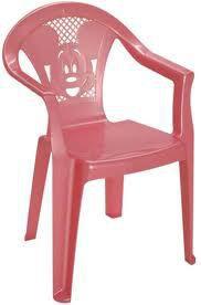 Детский стульчик пластмассовый