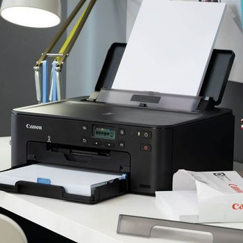 купить Printer Canon Pixma TS704, A4, Duplex, 4800x1200 dpi_1pl, ESAT 15/10 ipm, Print on CD/DVD, USB 2,0/Ethernet/Wi-Fi & Direct Print, PGI-480PGBK 200p, CLI-481BK 1478p, CLI-481C, CLI-481M, CLI-481Y or XL-series. в Кишинёве