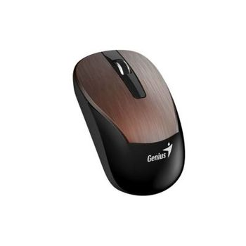Genius Eco 8015 Iron Gray, Wireless 2.4GHz Rechargeable Optical Mouse, 3-buttons, Nano receiver, Blue Eye 800/1200/1600 dpi, Scroll-n-Smart Zoom, Built-in rechargeable battery NiMH, Micro USB charging port, Iron Gray