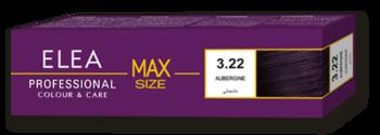 Краска для волос,SOLVEX Elea Max, 100 мл., 3.22 - Баклажан