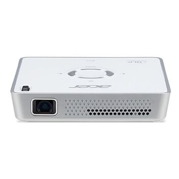 Acer C101I LED Projector (MR.JQ411.001) DLP, WVGA, 854x480, 100000:1, 150Lm, 20000hrs, HDMI in, HDMI out, 1W Mono Speaker, 400mAh battery, White, 0,27kg