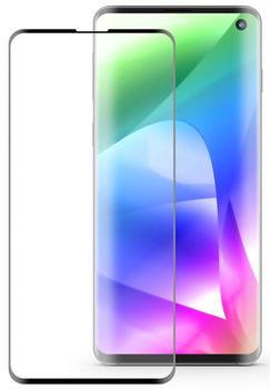 Защитное стекло Cover'X для Samsung S10 3D Curved Black