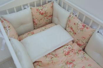 купить Комплект постельного белья Happy Baby Flowers (6 ед.) в Кишинёве