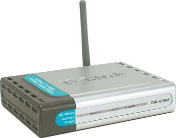 D-Link Wireless AccessPoint DWL-G700AP, 2.4GHz, 802.11q, up to 54Mbps