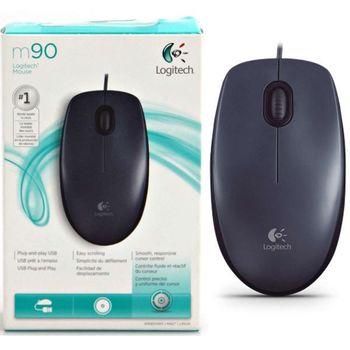 Mouse Logitech M90, Grey