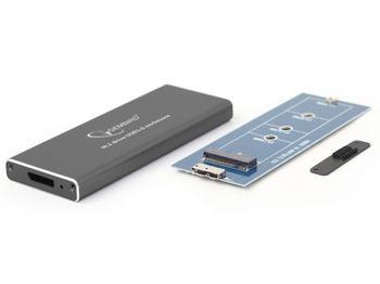 """.M.2 Комплект корпуса для твердотельного накопителя SATA Gembird """"EE2280-U3C-01"""" USB3.1, алюминий"""