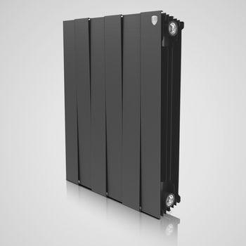 Radiator bimetal Royal Thermo Pianoforte black 500
