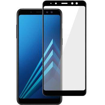 Защитное стекло Samsung A730 / A8+ (5D )