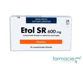 купить Etol SR comp.film elib prel.600 mg N10 в Кишинёве