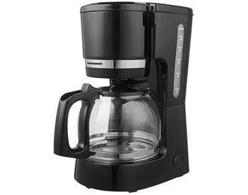 Кофеварка капельная Heinner HCM-800BK, 1.5л, Черный