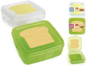 Lunch-box Snips Sandwich 0.5l, 14.5X14.5X5.5cm