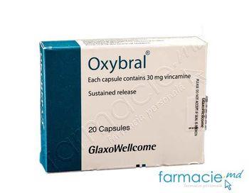 купить Оксибрал, капсулы 30 мг N20 в Кишинёве