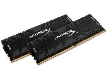 16 ГБ DDR4-4266 МГц Kingston HyperX Predator (комплект из 2x8 ГБ) (HX442C19PB3K2 / 16), CL19-26-26, 1,4 В, черный