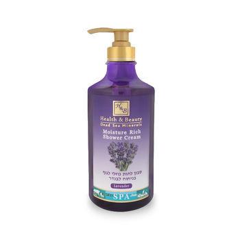 Cremă hidratantă pentru duș lavandă Health & Beauty 780 ml