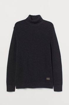 Трикотаж H&M Темно серый