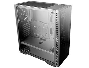 Case Middletower Deepcool MATREXX 50 ADD-RGB 4F ATX Black no PSU, Side & Front panel Tempered glass, 1xUSB3.0/2xUSB2.0/AudioHD x 1/Mic x 1 Pre-installed: Rear: 1x120mm fan; Front: 3x120mm ADD-RGB fans(carcasa/корпус)