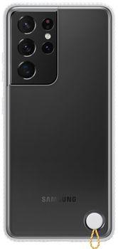 купить Чехол для моб.устройства Samsung Galaxy S21 Ultra EF-GG998 Clear Protective Cover White в Кишинёве