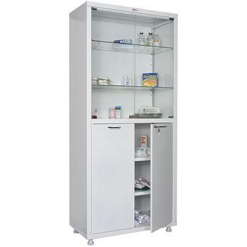 Шкаф металлический Hilfe MD-2 1780 SG