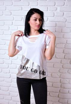 купить Женская футболка Simona ID 4073 в Кишинёве