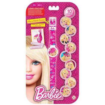 Barbie Часы с набором сменных панелей для циферблата