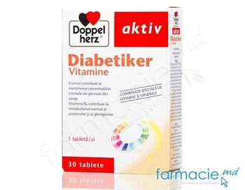 купить Diabetiker Vitamine+Minerale comp. N30 Doppelherz в Кишинёве