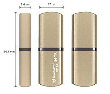 купить Flash Drive Transcend JetFlash 820 Gold 64Gb в Кишинёве