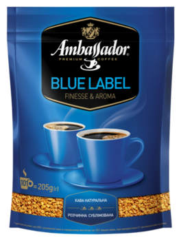 Ambassador Blue Label 205гр