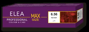 Краска для волос,SOLVEX Elea Max, 100 мл., 6.56 - Светлый махагон