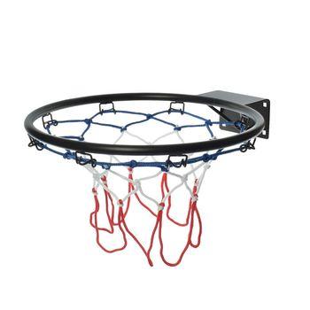 Кольцо для баскетбола с сеткой d=48 см Spartan 1185 black (3609)