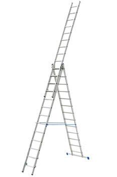 купить Ascara , VHR P 3x13  Лестница алюминиевая трехсекцонная Elkop в Кишинёве