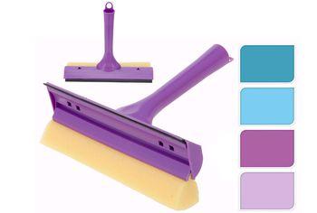 Щетка для мытья окон с губкой и влагособирателем