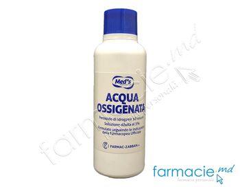 купить Apa oxigenata sol. 3% 250ml Med'S (1400100250) в Кишинёве
