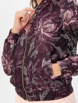Куртка Tom Tailor Бордовый с принтом 1005147