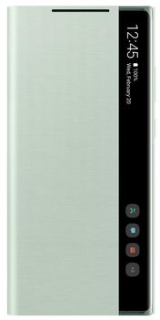 купить Чехол для моб.устройства Samsung Galaxy Note 20,EF-ZN980 Clear View Cover Mint в Кишинёве