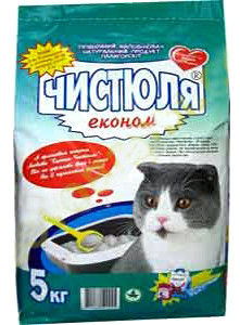 купить Наполнитель для кошачьего туалета Чистюля Эконом в Кишинёве