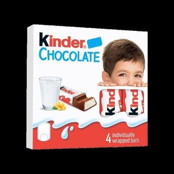 Kinder Chocolate, 4 шт.