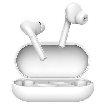 Trust Nika Touch Bluetooth Wireless TWS Earphones, 6 hours of playtime, touch, White