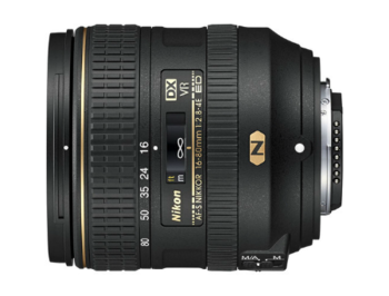 Nikon AF-S DX NIKKOR 16-80mm f/2.8-4E ED VR (NEW Lens). DX, filter: 72mm, JAA825DA (Obiectiv Nikon/ обьектив Nikon)
