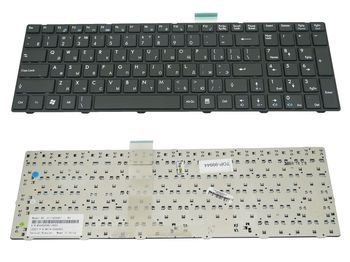 Keyboard MSI CR620 CR630 CR650 A6200 GE620 CX620 FX600 S6000 MS168 ENG/RU Black