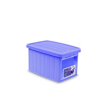 купить Коробка Elegance с боковой дверцей,  М 290х390х210 мм, фиолетовый в Кишинёве