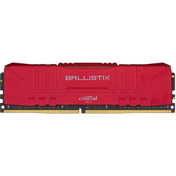 Оперативная память 8GB DDR4 Crucial Ballistix Red BL8G30C15U4R DDR4 8GB PC4-24000 3000MHz CL15, Retail (memorie/память)