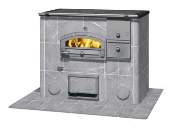 Печь-камин с духовкой - Tulikivi LLU1250